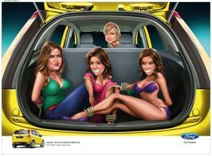 Campaña Polemica: Ford Figo 2013