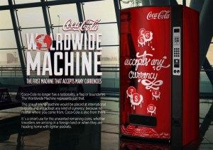 Campaña: Máquina de Coca Cola Mundial