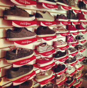 coca shoes